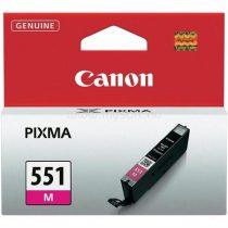 CANON CLI-551M Tintapatron Pixma iP7250, MG5450 nyomtatókhoz, CANON vörös, 7ml