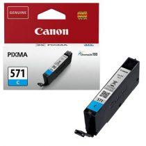 CANON CLI-571C Tintapatron Pixma MG5750, 6850,7750 nyomtatókhoz, CANON, cián, 7 ml