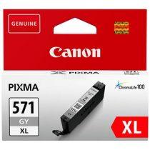 CANON CLI-571GXL Tintapatron Pixma MG5750, 6850, 7750 nyomtatókhoz, CANON, szürke, 11ml