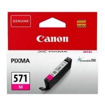 CANON CLI-571M Tintapatron Pixma MG5750, 6850,7750 nyomtatókhoz, CANON vörös, 7 ml
