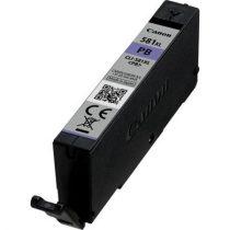 CANON CLI-581PCXL Tintapatron Pixma TS7550, 8150, 9150 nyomtatókhoz, CANON, fotó kék, 8,3ml