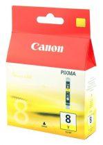 CANON CLI-8Y Tintapatron Pixma iP3500, 4200, 4300 nyomtatókhoz, CANON, sárga, 13ml