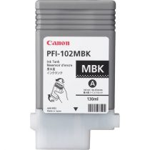 CANON PFI-102MB Tintapatron iPF500, 600, 700 nyomtatókhoz, CANON, matt fekete, 130ml