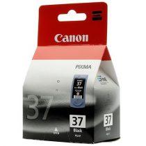 CANON PG-37 Tintapatron Pixma iP1800, 2500, MP210 nyomtatókhoz, CANON, fekete, 11ml