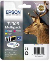 EPSON T13064010 Tintapatron multipack Stylus 525WD nyomtatóhoz, EPSON c+m+y, 30,3ml