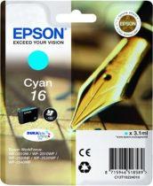 EPSON T16224010 Tintapatron Workforce WF2540WF nyomtatóhoz, EPSON kék, 3,1ml
