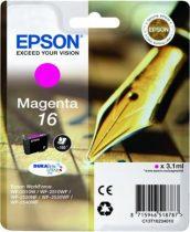 EPSON T16234010 Tintapatron Workforce WF2540WF nyomtatóhoz, EPSON vörös, 3,1ml