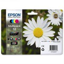 EPSON T18064010 Tintapatron multipack XP 30, 102, 202, 205 nyomtatókhoz, EPSON b+c+m+y, 15,1ml