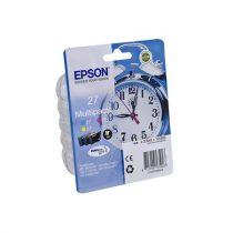EPSON T27054010 Tintapatron multipack Workforce 3620DWF,7110DTW nyomtatóhoz, EPSON, c+m+y,10,8 ml
