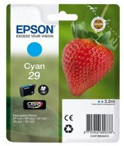 EPSON C13T29824010 Tintapatron XP235/332 nyomtatókhoz, EPSON kék, 3,2ml