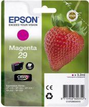 EPSON C13T29834010 Tintapatron XP235/332 nyomtatókhoz, EPSON vörös, 3,2ml