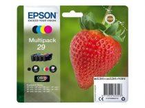 EPSON T29864012 Tintapatron multipack XP245 nyomtatóhoz, EPSON, b+c+m+y, 14,9ml