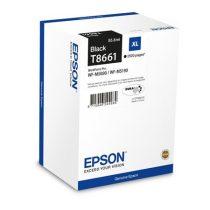 EPSON T8661 Tintapatron WP-M5690DWF, WP-M5190DW nyomtatókhoz, EPSON fekete, 2,5k