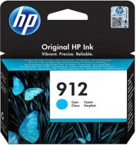 HP 3YL77AE Tintapatron Officejet 8023 All-in-One nyomtatókhoz, HP 912, cián, 315 oldal