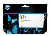 HP B3P21A Tintapatron DesignJet T1500, T2500, T920, T930 nyomtatókhoz, HP 727, sárga, 130 ml