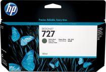 HP B3P22A Tintapatron DesignJet T1500, T2500, T920, T930 nyomtatókhoz, HP 727, matt fekete, 130 ml