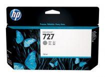 HP B3P24A Tintapatron DesignJet T1500, T2500, T920, T930 nyomtatókhoz, HP 727, szürke, 130 ml