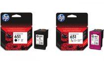 HP C2P10AE Tintapatron Deskjet Ink Advantage 5575 nyomtatóhoz, HP 651 fekete, 600 oldal