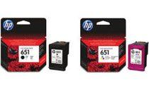 HP C2P11AE Tintapatron Deskjet Ink Advantage 5575 nyomtatóhoz, HP 651, színes, 300 oldal