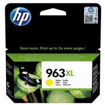 HP 3JA29AE Tintapatron OfficeJet Pro 9010, 9020 nyomtatókhoz, HP 963XL, sárga, 1600 oldal