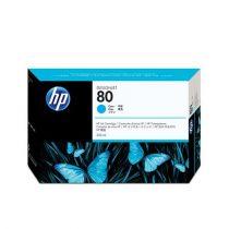 HP C4846A Tintapatron DesignJet 1050C, 1055CN nyomtatókhoz, HP 80, cián, 350ml