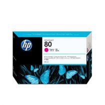 HP C4847A Tintapatron DesignJet 1050C, 1055CN nyomtatókhoz, HP 80, magenta, 350ml