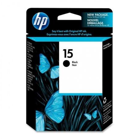 HP C6615DE Tintapatron DeskJet 810c, 812c, 816 nyomtatókhoz, HP 15, fekete, 25ml