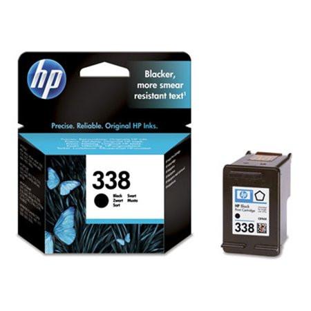 HP C8765EE Tintapatron DeskJet 460 mobil, 5740, 6540d nyomtatókhoz, HP 338, fekete, 11ml