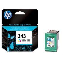 HP C8766EE Tintapatron DeskJet 460 mobil, 5740, 5940 nyomtatókhoz, HP 343 színes, 7ml