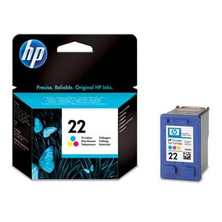 HP C9352AE Tintapatron DeskJet 3920, 3940, D2300 nyomtatókhoz, HP 22, színes, 5ml