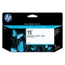 HP C9370A Fotópatron DesignJet T610, T640, T1100, T1100ps nyomtatókhoz, HP 72, fekete, 130ml