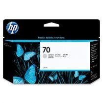 HP C9451A Tintapatron DesignJet Z2100 sor nyomtatókhoz, HP 70, világos szürke, 130ml