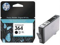 HP CB316EE Tintapatron Photosmart C5380, C6380, D5460 nyomtatókhoz, HP 364 fekete, 250 oldal