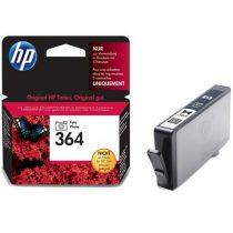 HP CB317EE Fotópatron Photosmart C5380, C6380, D5460 nyomtatókhoz, HP 364, photo fekete, 130 oldal