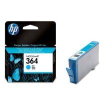 HP CB318EE Tintapatron Photosmart C5380, C6380, D5460 nyomtatókhoz, HP 364 kék, 300 oldal