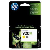 HP CD974AE Tintapatron OfficeJet 6000, 6500 nyomtatókhoz, HP 920xl, sárga, 700 oldal