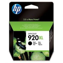HP CD975AE Tintapatron OfficeJet 6000, 6500 nyomtatókhoz, HP 920xl, fekete, 1 200 oldal