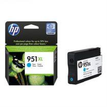 HP CN046AE Tintapatron OfficeJet Pro 8100 nyomtatóhoz, HP 951xl, cián, 1,5k