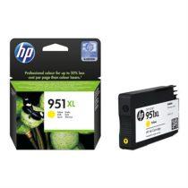 HP CN048AE Tintapatron OfficeJet Pro 8100 nyomtatóhoz, HP 951xl sárga, 1,5k