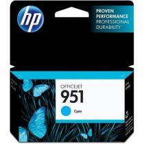 HP CN050AE Tintapatron OfficeJet Pro 8100, 8600 nyomtatókhoz, HP 951, kék, 0,75k