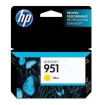 HP CN052AE Tintapatron OfficeJet Pro 8100, 8600 nyomtatókhoz, HP 951, sárga, 0,75k