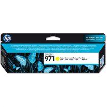 HP CN624AE Tintapatron OfficeJet Pro X451, X476, X551, X576 nyomtatókhoz, HP 971, sárga, 2,5k