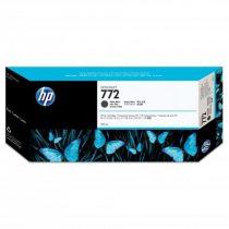 HP CN635A Tintapatron DesignJet Z5200 nyomtatóhoz, HP 772 matt fekete, 300ml