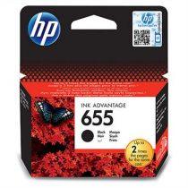 HP CZ109E Tintapatron Deskjet Ink Advantage 3520 sor nyomtatókhoz, HP 655 fekete, 550 oldal