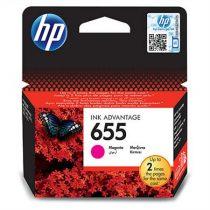 HP CZ111E Tintapatron Deskjet Ink Advantage 3520 sor nyomtatókhoz, HP 655 vörös, 600 oldal