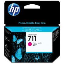 HP CZ131A Tintapatron DesignJet T120,T520 nyomtatókhoz, HP 711 vörös, 29 ml