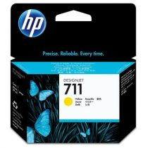 HP CZ132A Tintapatron DesignJet T120,T520 nyomtatókhoz, HP 711 sárga, 29 ml