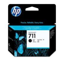 HP CZ133A Tintapatron DesignJet T120,T520 nyomtatókhoz, HP 711xl fekete, 80 ml