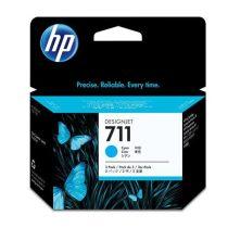 HP CZ134A Tintapatron DesignJet T120, T520, nyomtatókhoz, HP 711, cián, 29ml