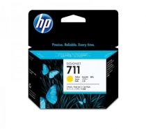 HP CZ136A Tintapatron DesignJet T120, T520, nyomtatókhoz, HP 711, sárga, 29ml